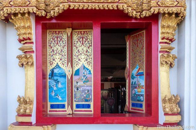 painted window shutters