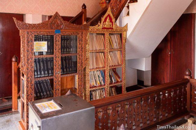 two tripitaka cabinets