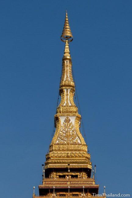 top of Phra Mahathat Kaen Nakorn stupa