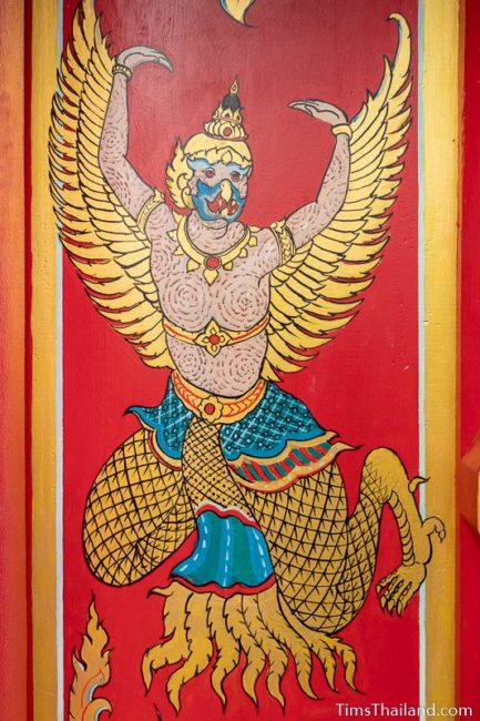 painting of a garuda