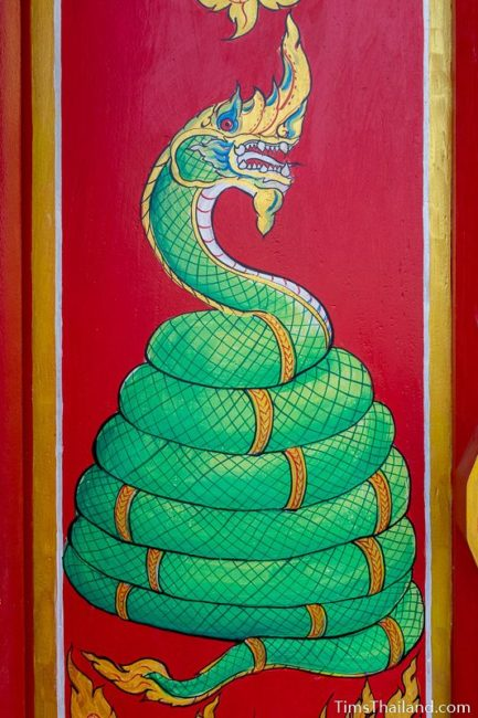 painting of a naga
