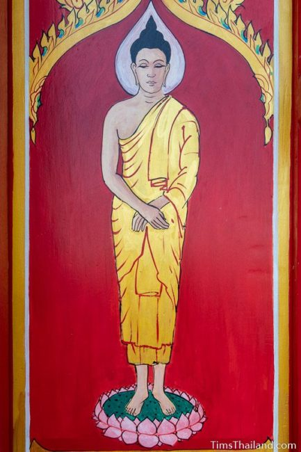 painting of the Sunday Buddha