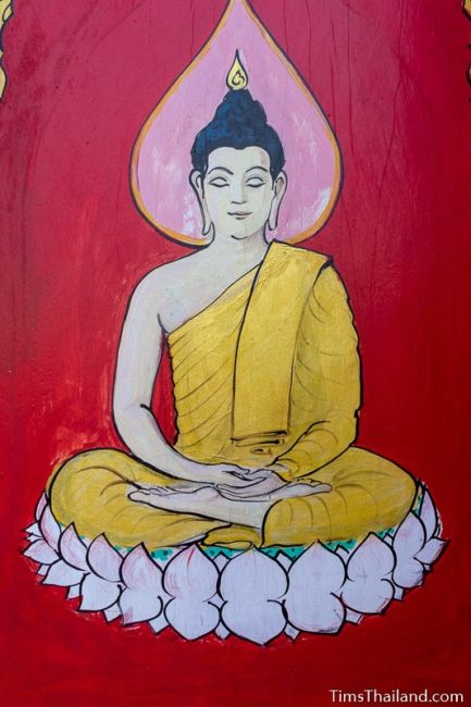 painting of the Thursday Buddha