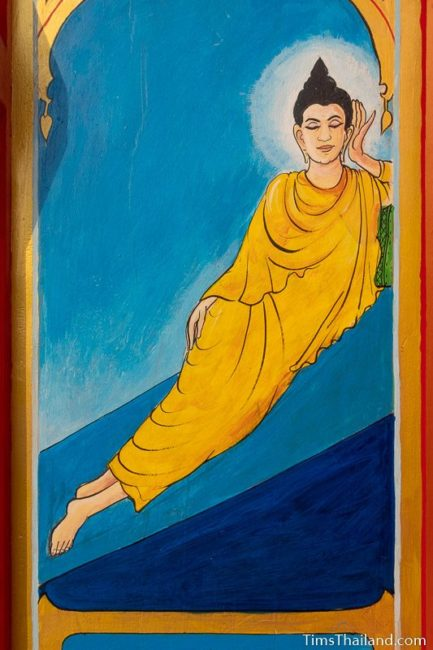 painting of the Tuesday Buddha