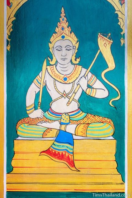 painting of the god Vayu
