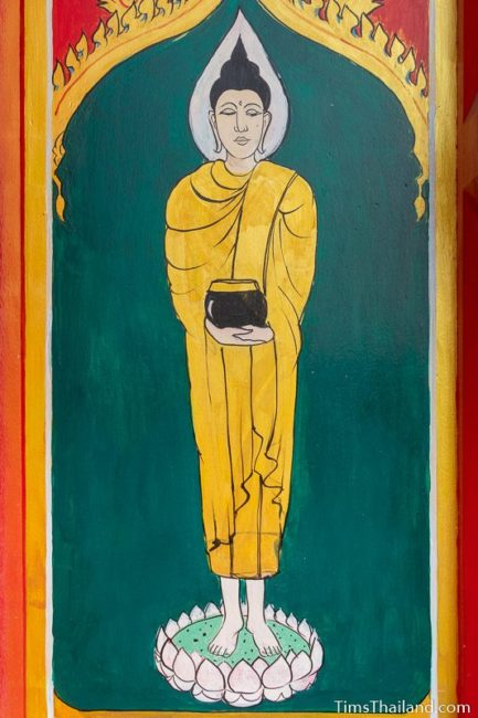 painting of the Wednesday daytime Buddha