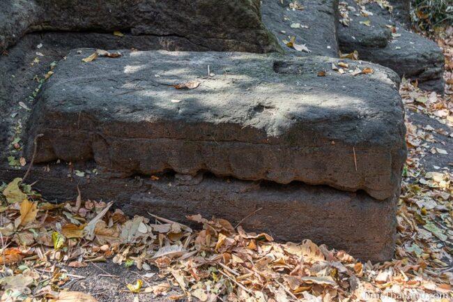 lone sandstone block