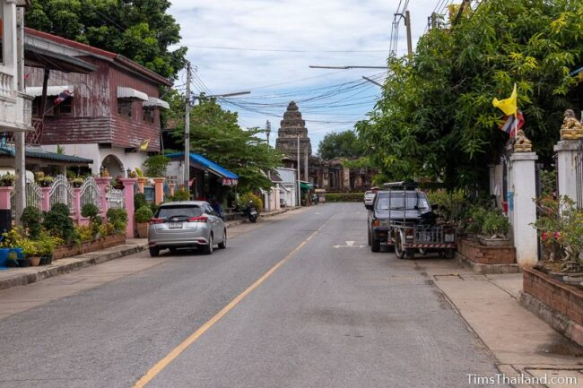 view of Prasat Phimai from near the eastern gate