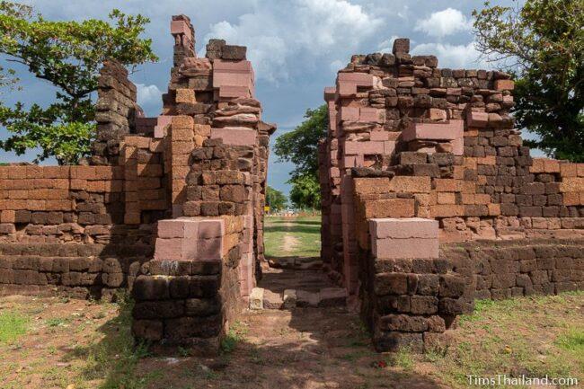 view through southern gate