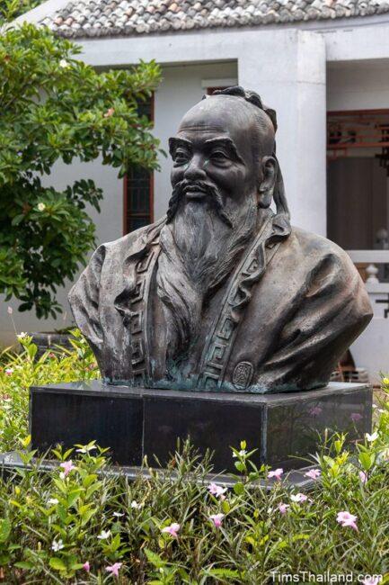 bust of Confucius