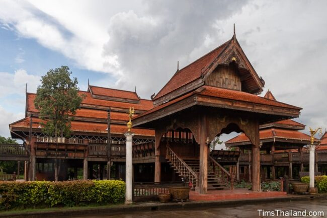 large wooden building