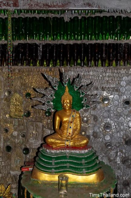 Buddha in bottle building