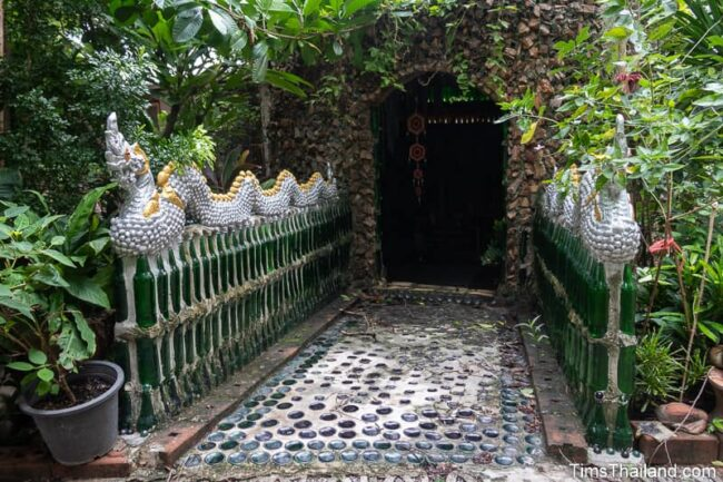 entrance with naga