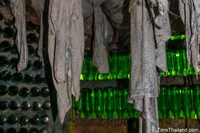 stalctites and bottles