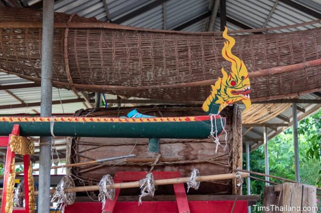fish trap, drum, and naga funnel for new year